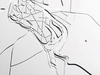 Zaha Hadid. Vision for Madrid Relief: ZHA