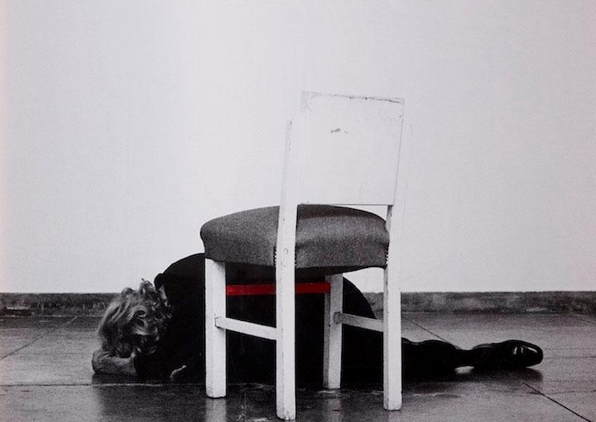 Helena de Almeida. Dentro de mim, 2014