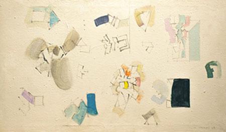 """""""Mompó. Pinturas. 1955-1980"""" en la Galería Fernández-Braso"""