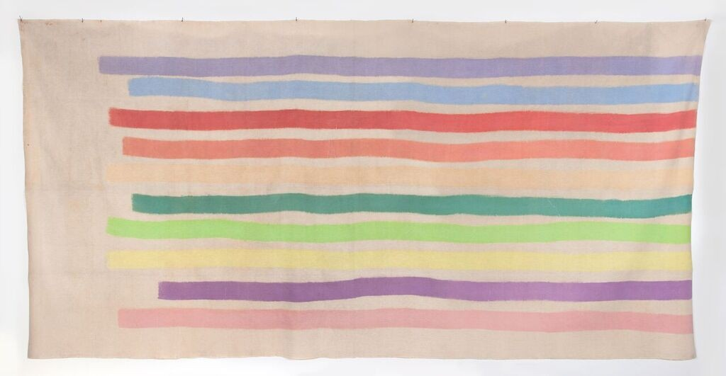 Giorgio Griffa. Untitled, 1970. Galerie 1900-2000