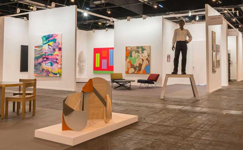 Participar en ARCOmadrid 2018. Stand Galería Senda 2017