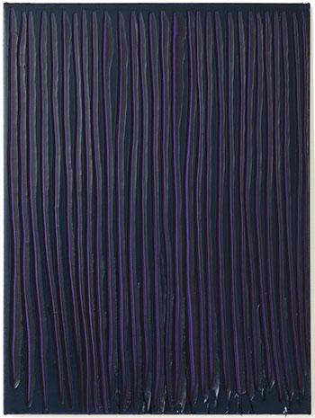 Peter Krauskopf. LILA Z, B 290817, 2017. Galería Álvaro Alcázar