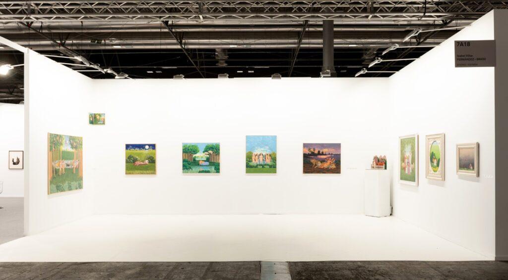 Proyecto de artista de Isabel Villar presentado por la Galería Fernández-Braso
