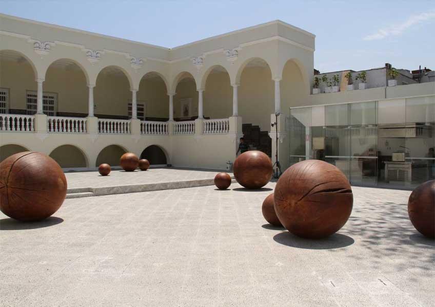 Jaime Miranda. Semillas en la Casa Moreyra de Lima, 2014