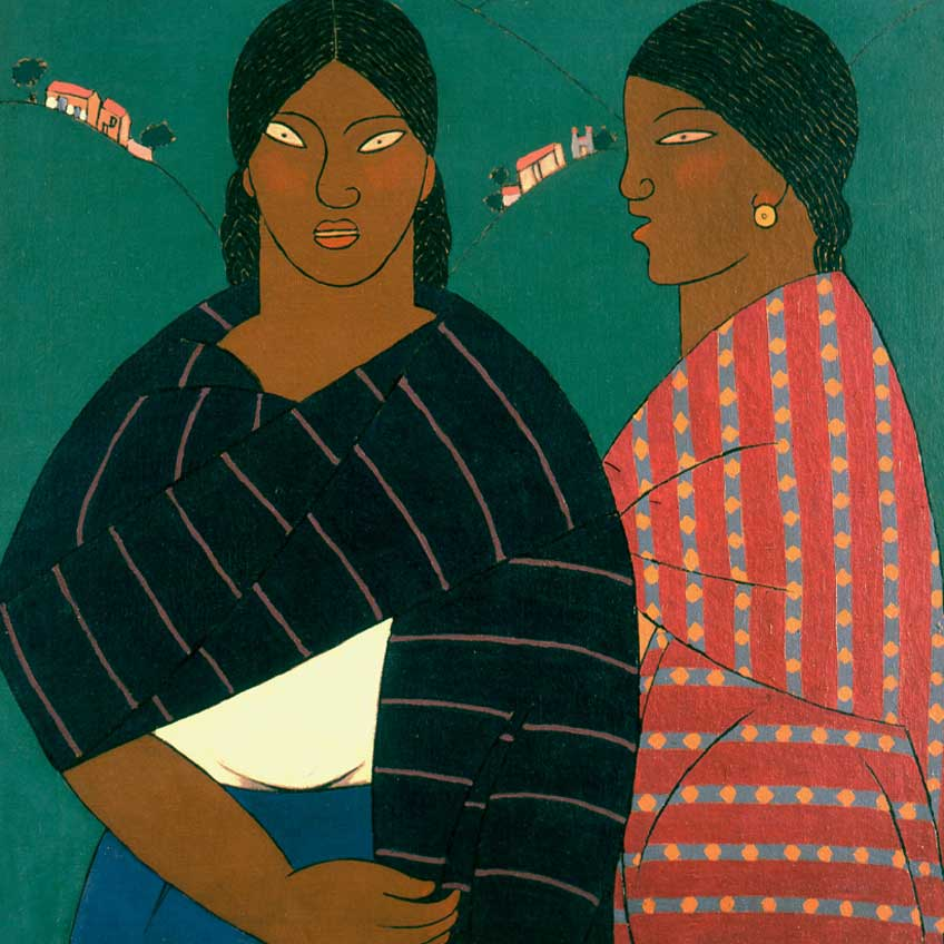 """Aaron Mérida en la muestra """" Amauta y América Latina 1926-1930"""" en el Museo Reina Sofía"""