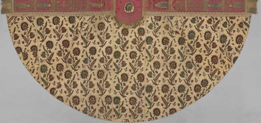 Capa pluvial, s XVII. Metropolitan Museum of Art