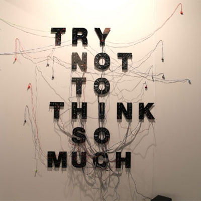Eugenio Ampudia. Try not to think so much, 2018. Colección BEEP de Arte Electrónico