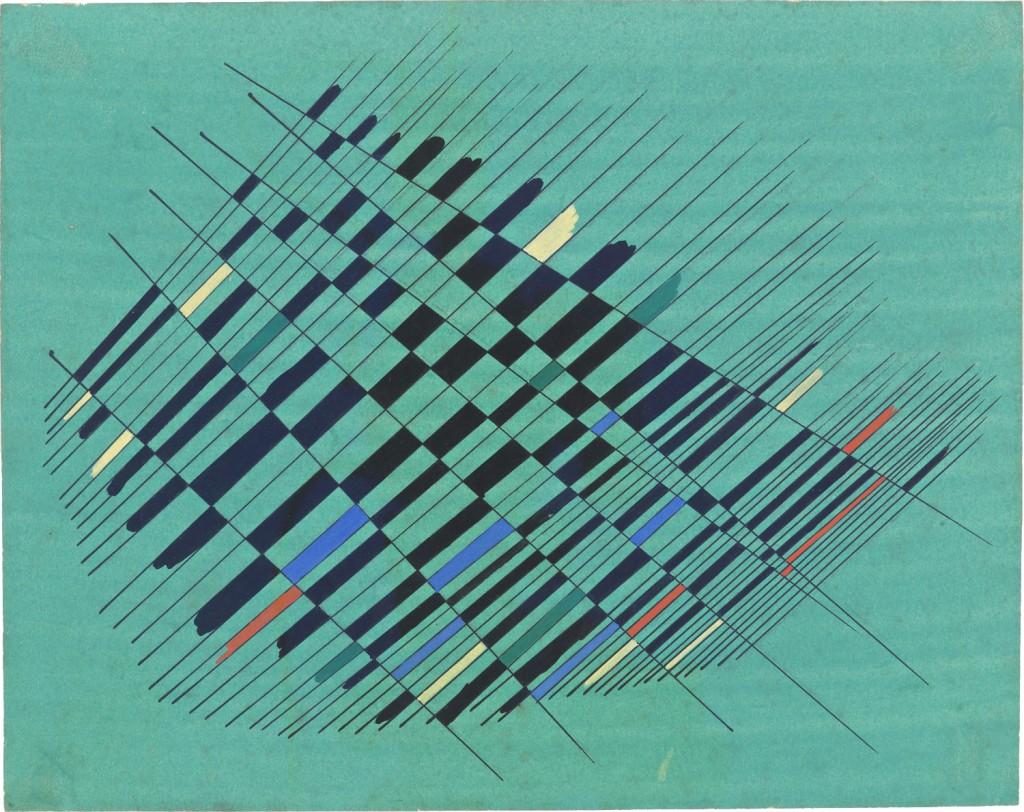 Alejandro Otero, Estudio 2 (Study 2), 1952 © Alejandro Otero-Mercedes Pardo Foundation
