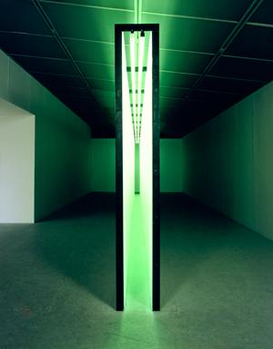 Bruce Nauman. Green Light Corridor, 1970. Solomon R. Guggenheim Museum, Nueva York