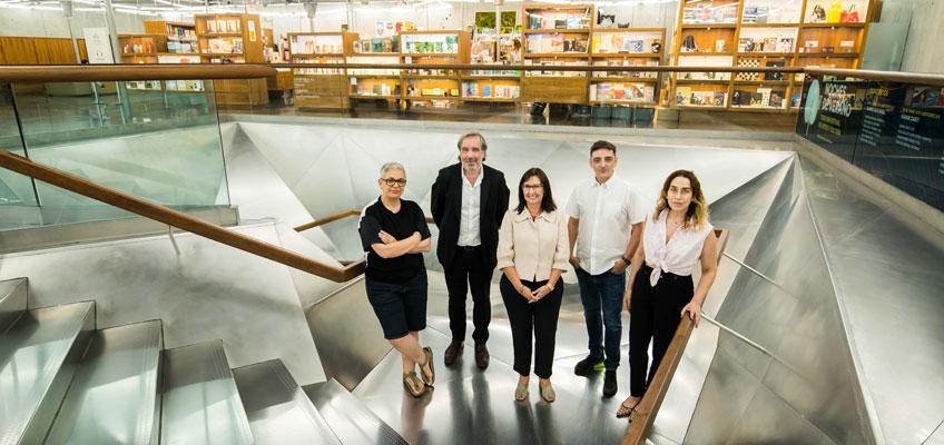 Dora García, Carlos Rosón, Elisa Durán, Mira Bernabeu y Miriam Lozano