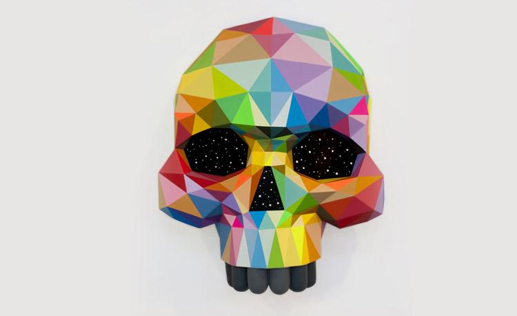 Okuda. Skull, 2017