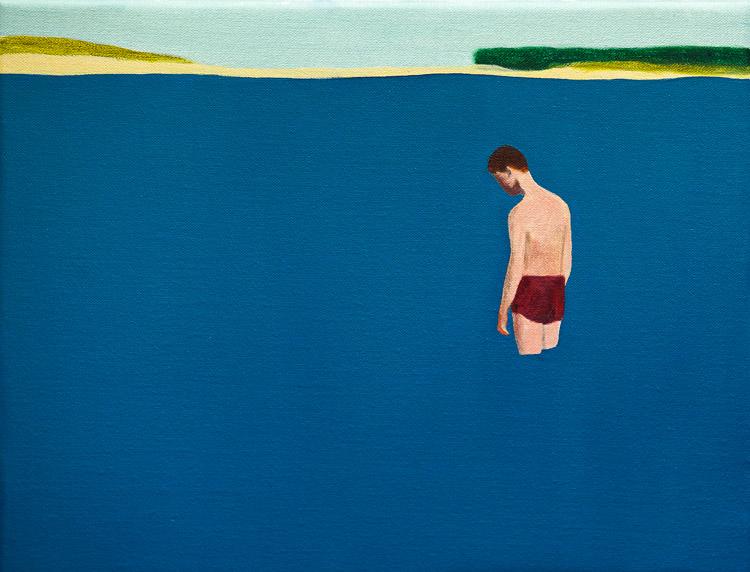 Guim Tió Zarraluki. El bany, 2017. Galería Yiri Arts