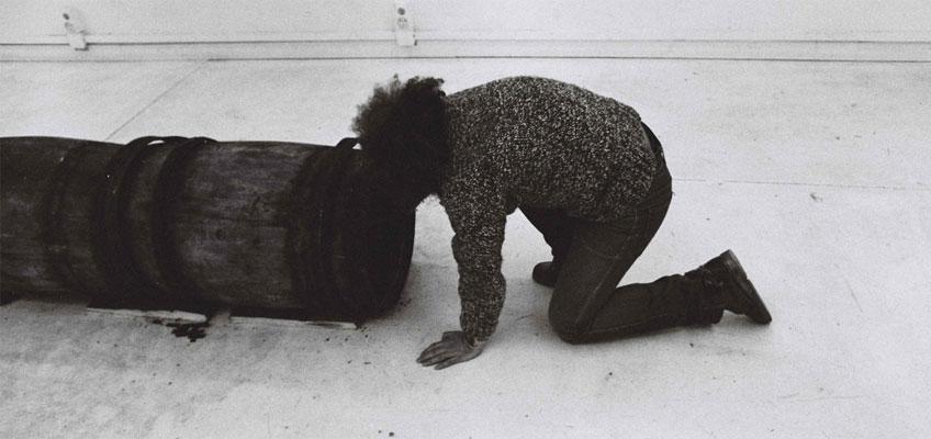 Artur Barrio. Volto em 5´, 1981. Archivo Artur Barrio