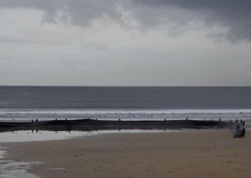 Miguel Braceli. Sacar el mar