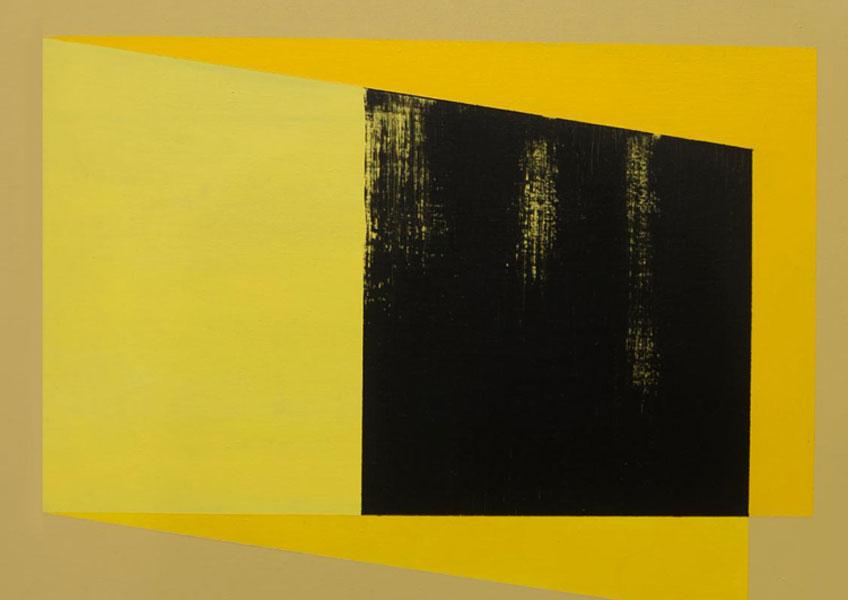 Rodrigo Martín. Yellow Fold, 2016