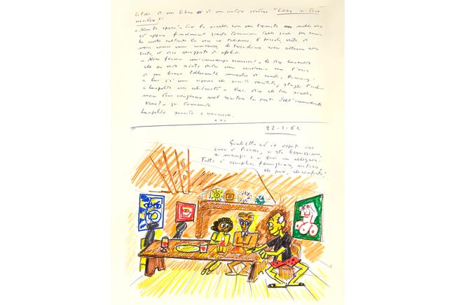 Federico Fellini. El libro de los sueños, volumen I, 1960-1968. Federico Fellini, VEGAP, Málaga 2017