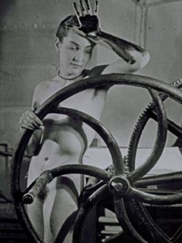 Man Ray. Sin título (Erotique Voilée), 1933. Centre Pompidou