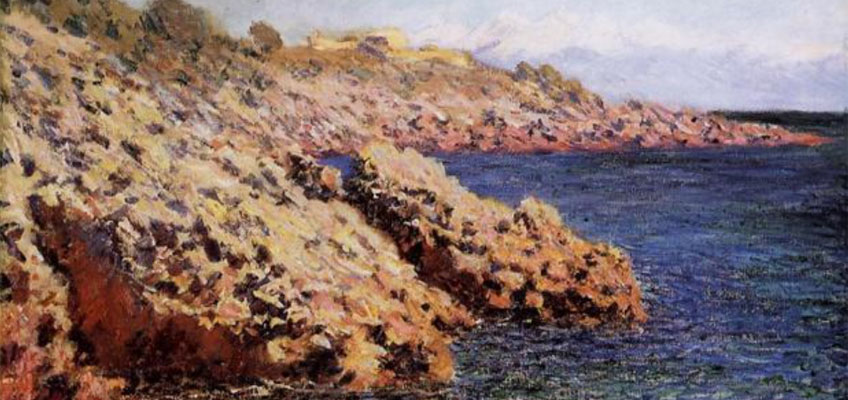 Claude Monet. La Mediterranée (Cap d´ Antibes), 1888. Columbus Museum of Art, Ohio