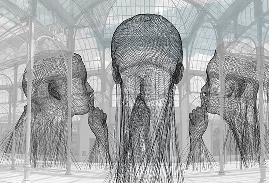 Jaume Plensa. Invisibles, 2018