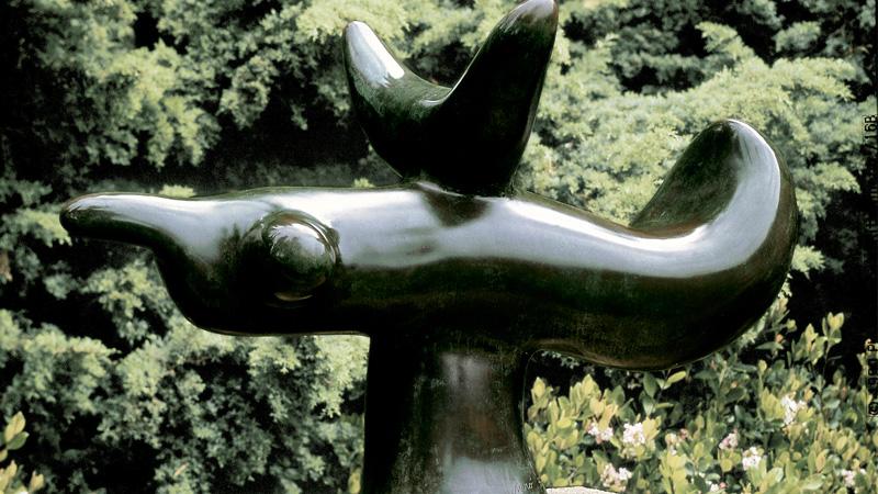 Joan Miró. Oiseau solaire, 1966. Successió Miró. Depositada en la Fundació Pilar i Joan Miró en Mallorca