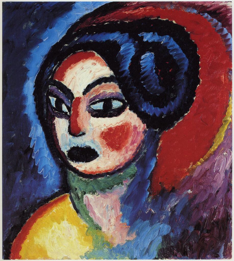 Alexéi von Jawlensky. Princesa Turandot,, 1912. Zentrum Paul Klee, Berna