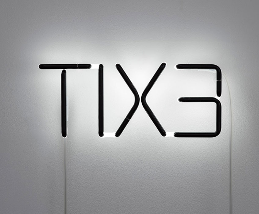 Cerith Wyn Evans, TIX3, 2016. White Cube