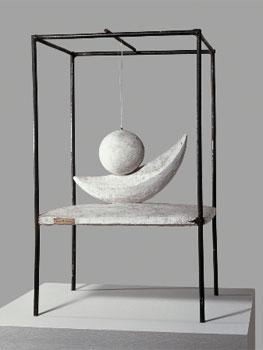 Alberto Giacometti. Suspended ball, 1930