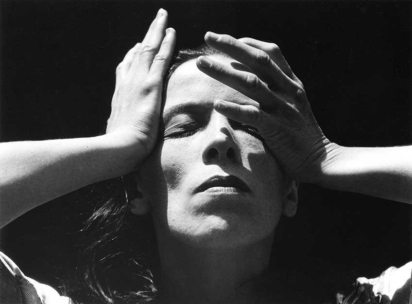 Imogen Cunningham. Martha Graham, Bailarina, 1931 © Imogen Cunningham Trust.