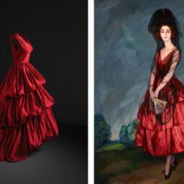 Balenciaga y la pintura creadora de moda