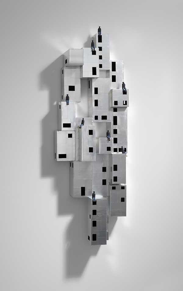 Baltazar Torres, Island of a perfect world III, 2007-2008. Es Baluard Museu d'Art Modern i Contemporani de Palma. © de la obra, Baltazar Torres, 2018. Fotografía: David Bonet