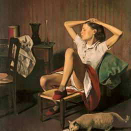 Balthus. Thérèse soñando, 1938. The Metropolitan Museum of Art, Nueva York