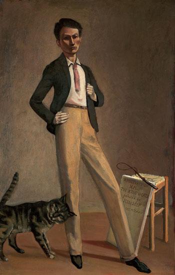 Balthus. El rey de los gatos, 1935. Musée Cantonal des Beaux-Arts de Lausanne