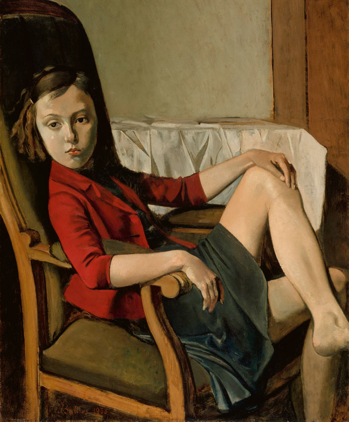 Balthus. Thérèse, 1938. The Metropolotan Museum of Art, Nueva York