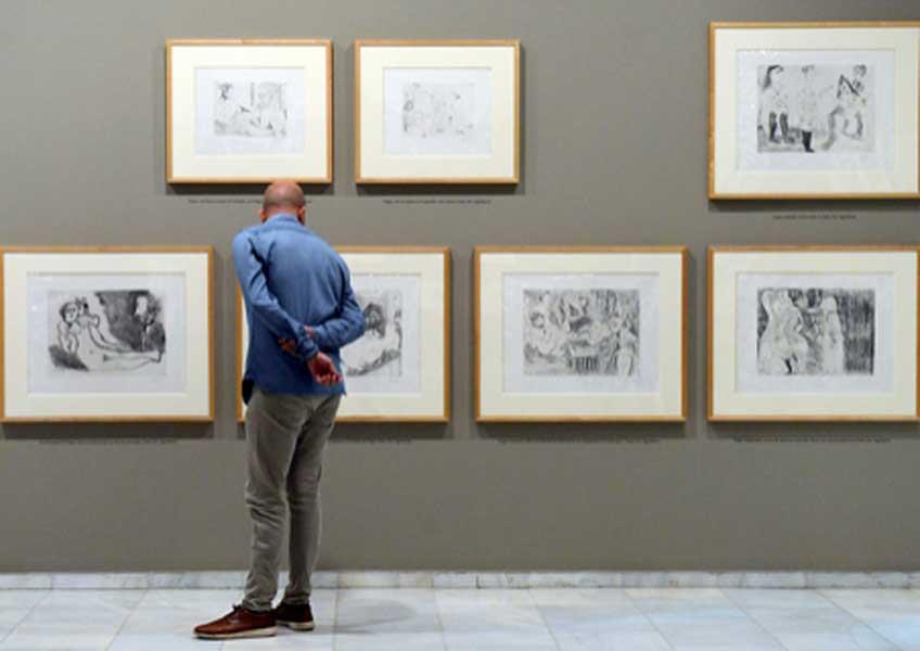 """""""Picasso. Modelos del deseo"""" en la Fundación Bancaja"""