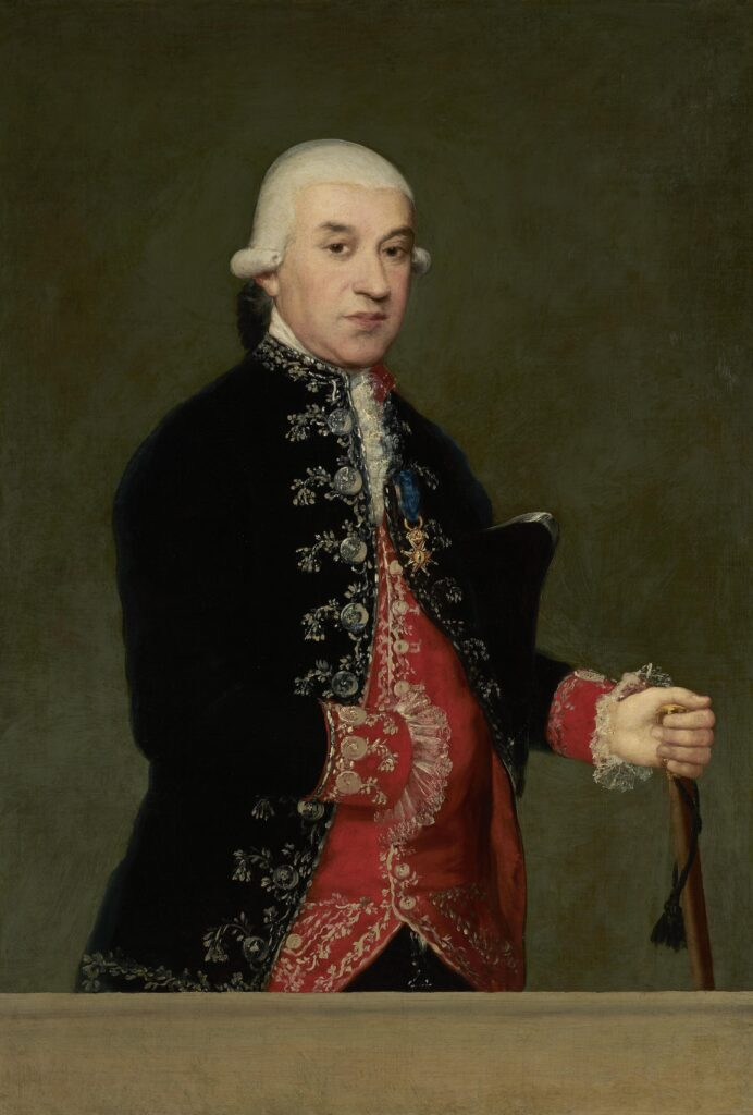 Francisco de Goya. Francisco Javier de Larumbe y Rodríguez, 1787. Colección Banco de España
