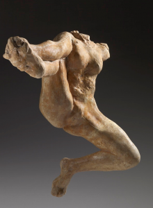 Auguste Rodin. Iris, mesajero de los dioses, 1891-1893. © Musée Rodin