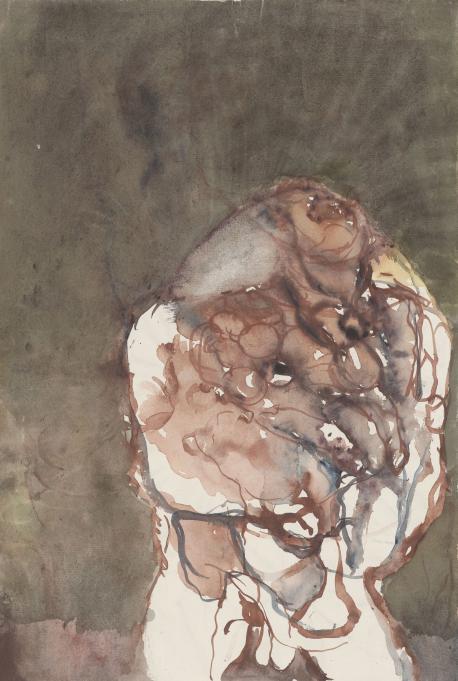 Georg Baselitz. Kopf, 1961. © Georg Baselitz 2017