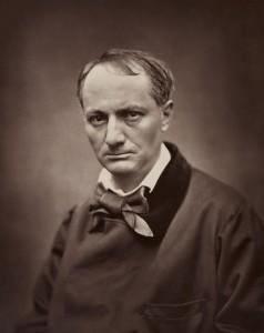 Étienne Carjat. Retrato de Charles Baudelaire, hacia 1862