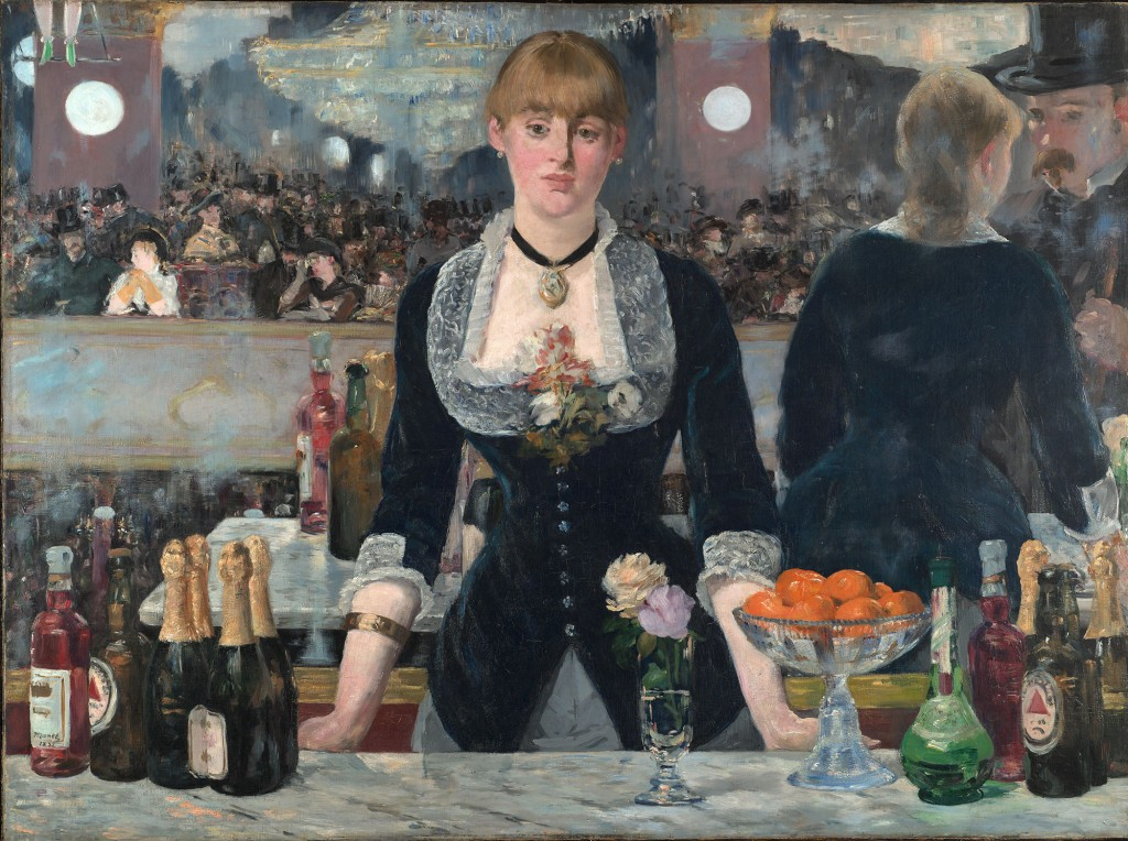 Manet. El bar del Folies-Bergère, 1881-1882. Courtauld Institute, Londres