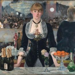Manet. El bar del Folies-Bergère, 1881-1882. Courtauld Institute, Londres