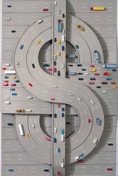 Thomas Bayrle. $, 1980