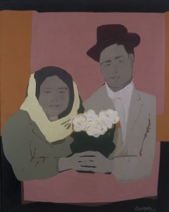 Beatriz González. Los suicidas del Sisga 2, 1965. Museo La Tertulia, Cali