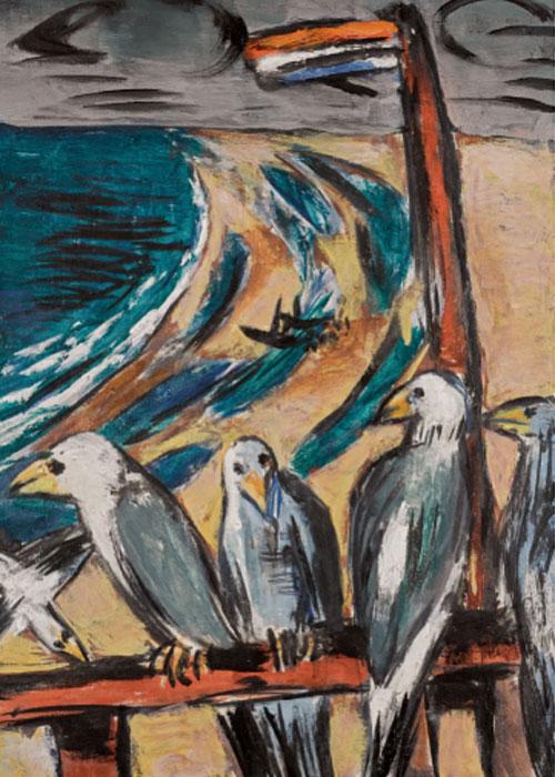 Max Beckmann. Gaviotas en la tormenta, 1942. Colección del Dr. Harald Binder
