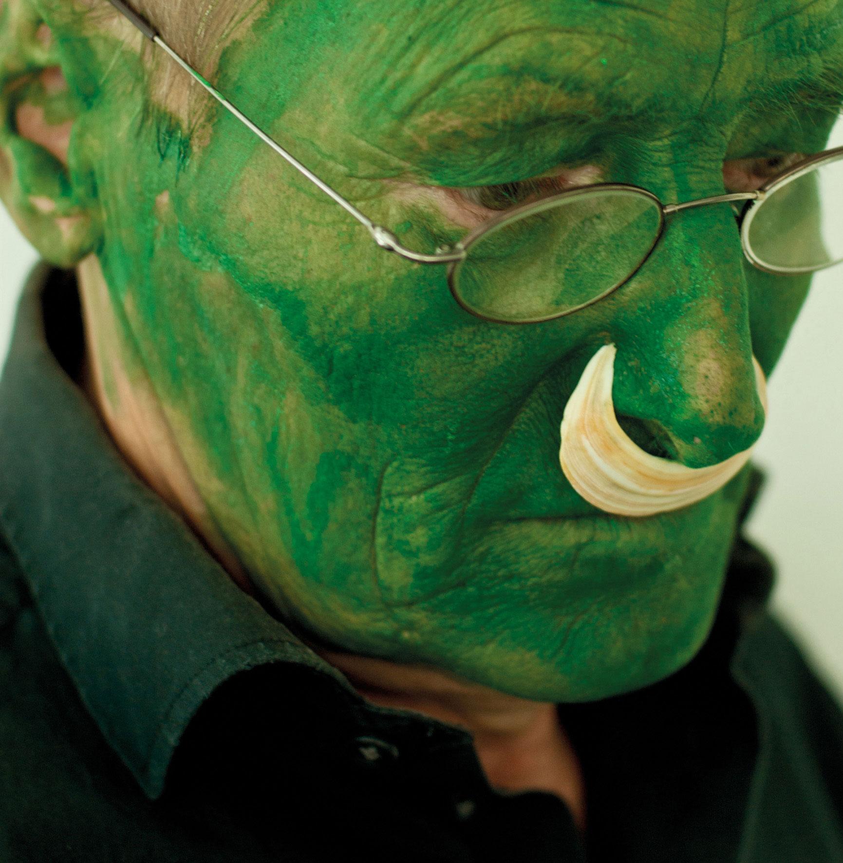 Lois Weinberger, Green Man, 2004
