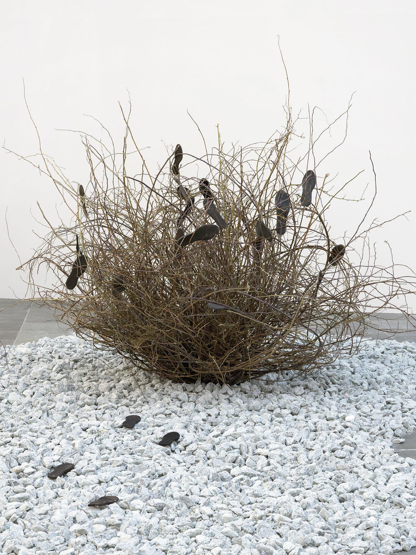 Lois Weinberger, Sculpture La Gomera, 2020