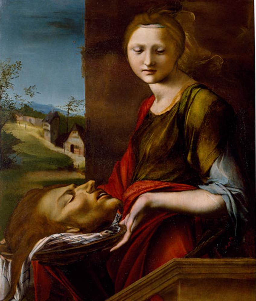 Alonso Berruguete. Salomé, hacia 1514-1517. Gabinetto dei Disegni e delle Stampe, Gallerie degli Uffizi