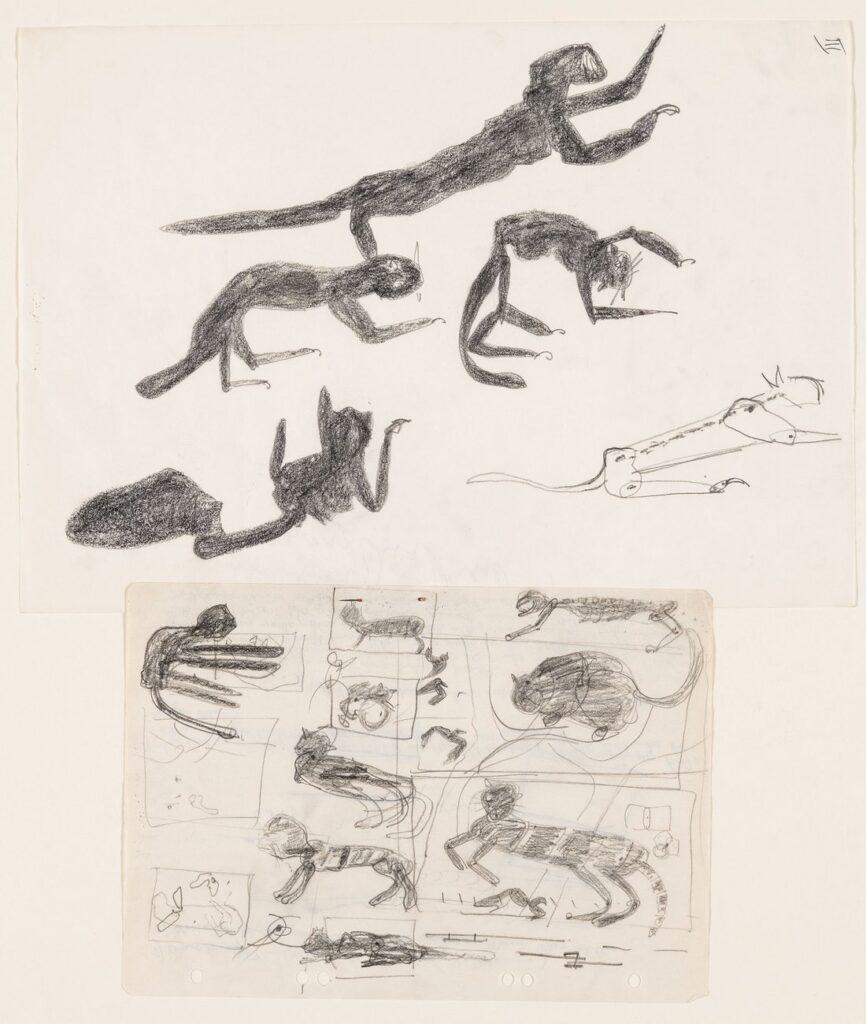 Joseph Beuys. Sin título, 1959