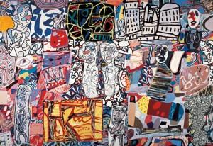 Jean Dubuffet. Mêle moments, 1976. Fotografía cortesía de Pace Gallery © 2015, ProLitteris, Zurich