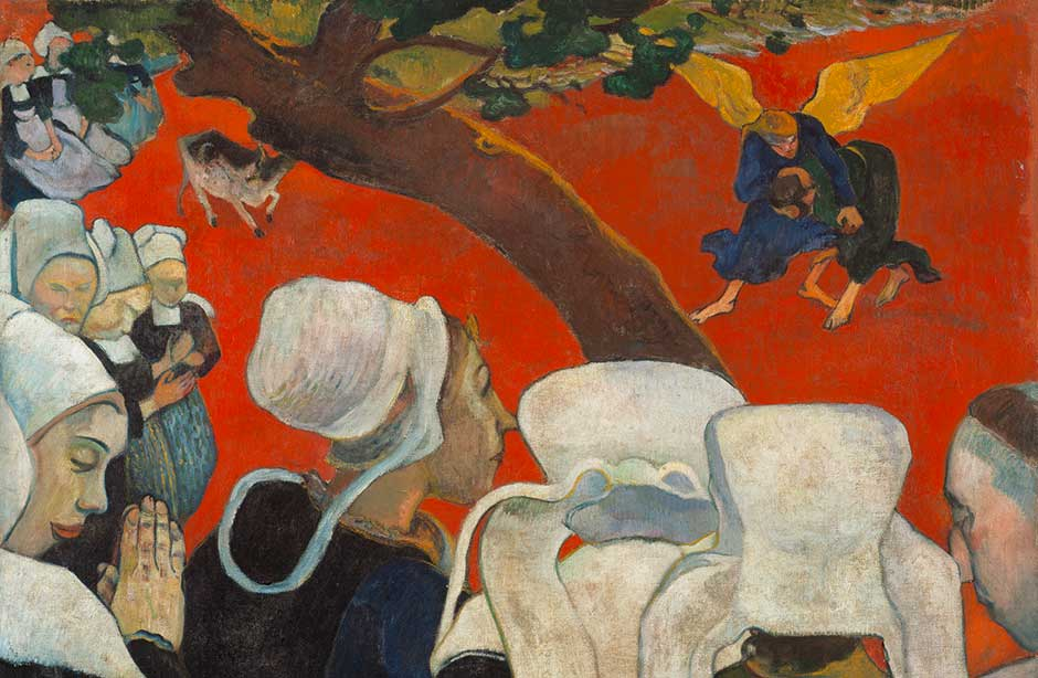 Gauguin. La Vision du sermon, 1888. Scottish National Gallery of Modern Art