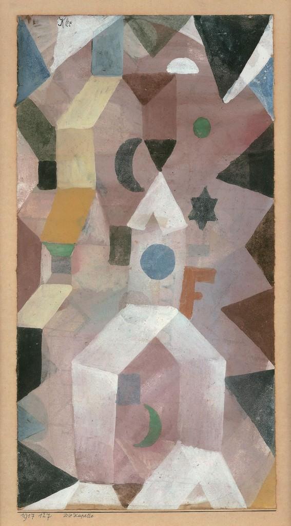 Paul Klee. The Chapel, 1917